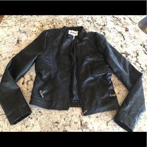 Black Vegan Moto Jacket